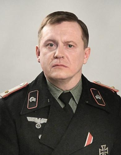 Офицер немецких танковых войск, Вторая мировая война.